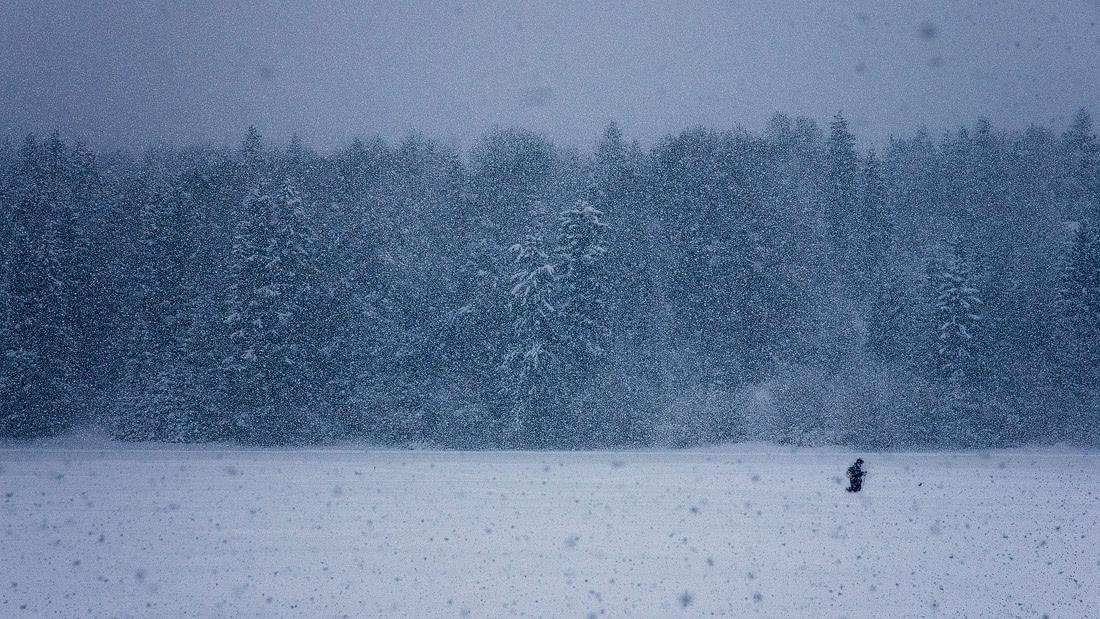 Bayern Bavaria Krün Wetterstein Karwendel barn winter wonderland