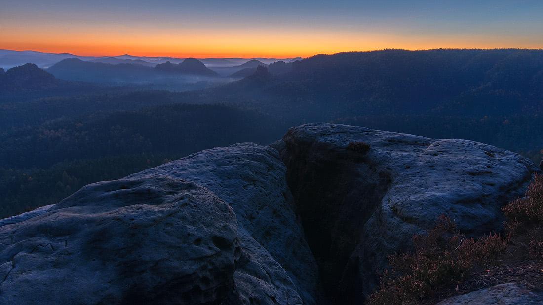 Saxony Switzerland Sächsische Schweiz Sonnenuntergang Sunset Sonnenaufgang Sunrise rocks Winterberg