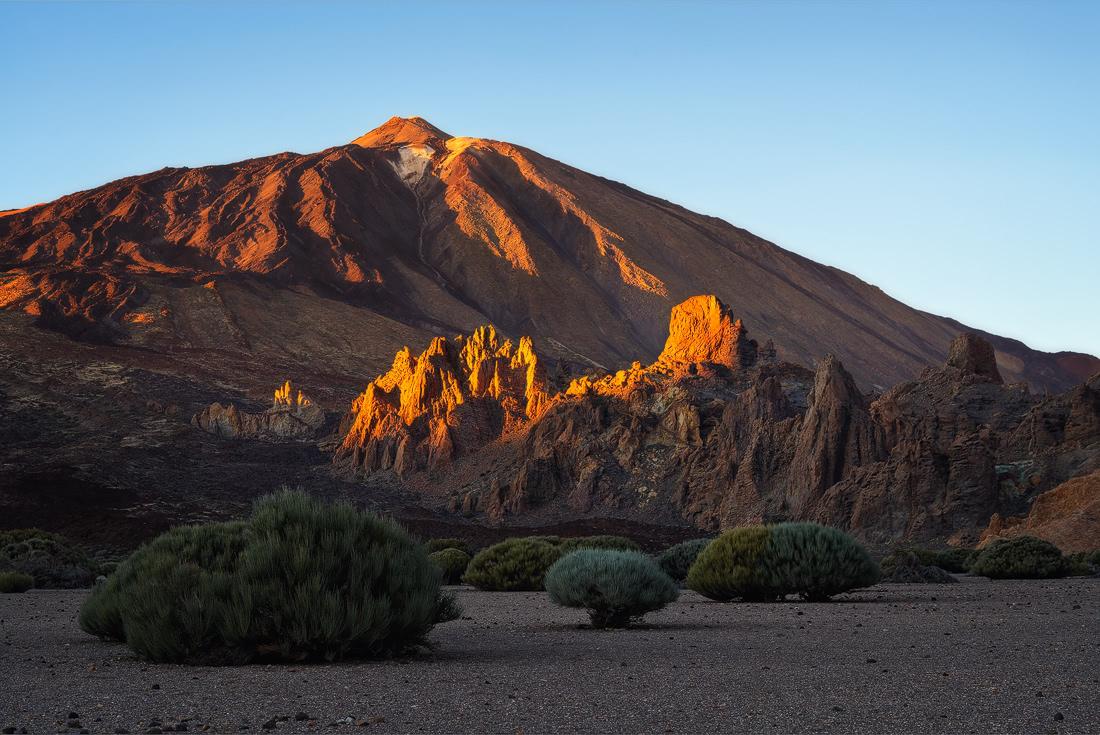 Tenerife islas canarias cliffs sunset sunrise