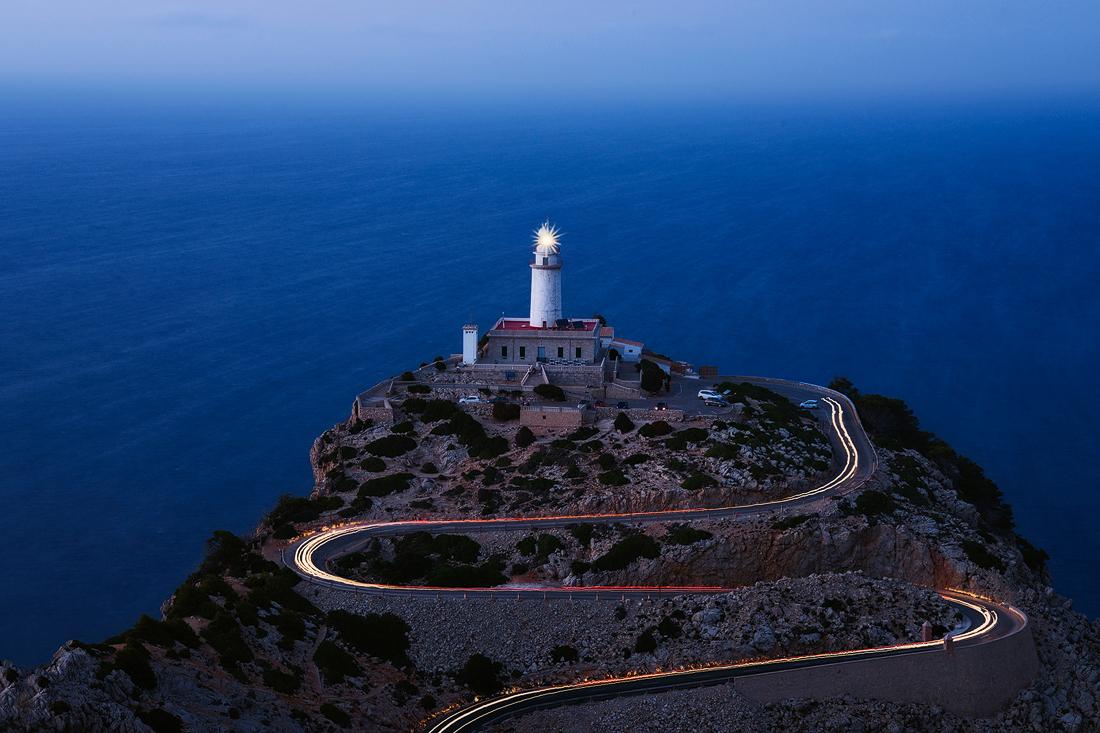 mallorca sunset cliffs nature balearen baleares islas espana blue hour formentor