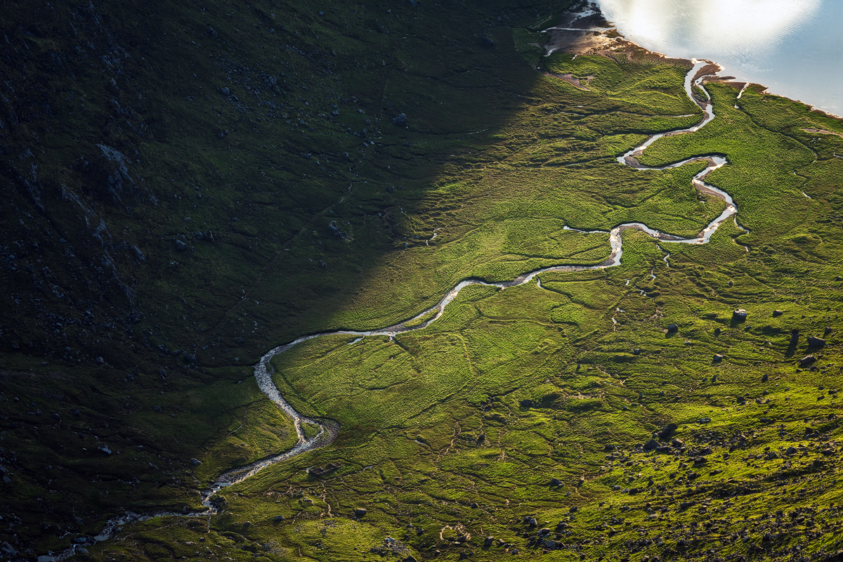 Winding River Scotland Highlands