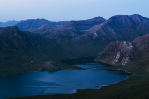 Fisherfield during Blue Hour