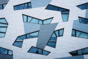 modern building in nijmegen