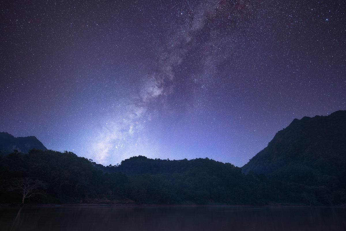 Milkyway over Laos