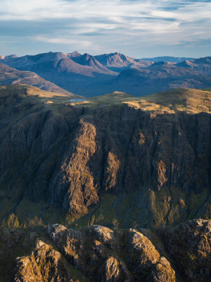 Beinn Lair at Sunset overlooking Torridon