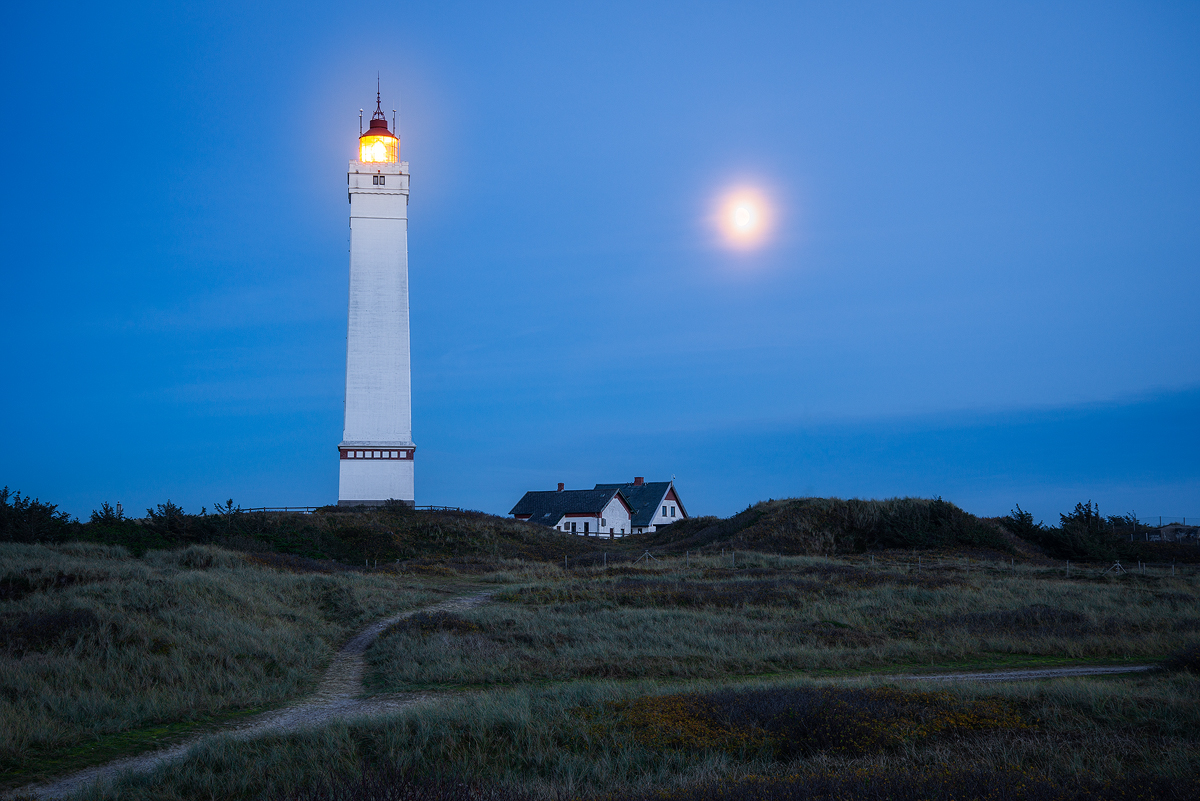 Blavand fyr lighthouse