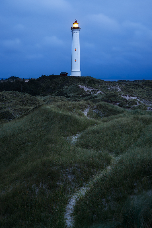 Hvide Sande fyr lighthouse